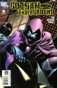 Cover Thumbnail for Gotham Underground (DC, 2007 series) #8