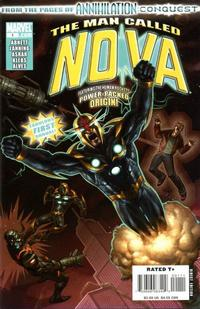 Cover Thumbnail for Nova Annual (Marvel, 2008 series) #1