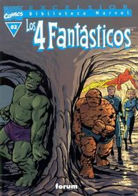 Cover Thumbnail for Biblioteca Marvel: Los 4 Fantásticos (Planeta DeAgostini, 1999 series) #2