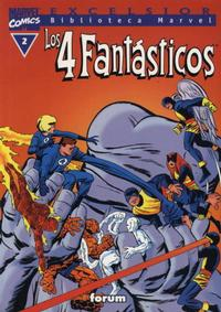 Cover Thumbnail for Biblioteca Marvel: Los 4 Fantásticos (Planeta DeAgostini, 1999 series) #2