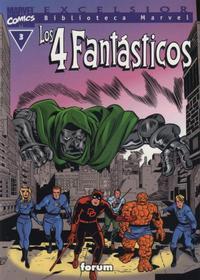 Cover Thumbnail for Biblioteca Marvel: Los 4 Fantásticos (Planeta DeAgostini, 1999 series) #3