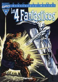 Cover Thumbnail for Biblioteca Marvel: Los 4 Fantásticos (Planeta DeAgostini, 1999 series) #6