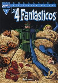 Cover Thumbnail for Biblioteca Marvel: Los 4 Fantásticos (Planeta DeAgostini, 1999 series) #7
