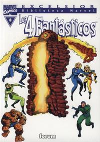 Cover Thumbnail for Biblioteca Marvel: Los 4 Fantásticos (Planeta DeAgostini, 1999 series) #8