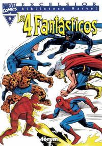 Cover Thumbnail for Biblioteca Marvel: Los 4 Fantásticos (Planeta DeAgostini, 1999 series) #9