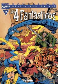 Cover Thumbnail for Biblioteca Marvel: Los 4 Fantásticos (Planeta DeAgostini, 1999 series) #12