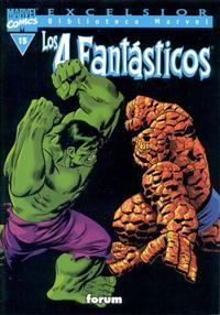 Cover Thumbnail for Biblioteca Marvel: Los 4 Fantásticos (Planeta DeAgostini, 1999 series) #15