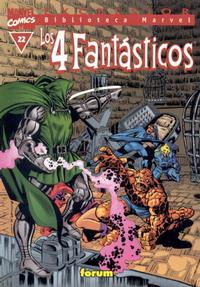 Cover Thumbnail for Biblioteca Marvel: Los 4 Fantásticos (Planeta DeAgostini, 1999 series) #22