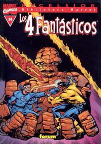 Cover Thumbnail for Biblioteca Marvel: Los 4 Fantásticos (Planeta DeAgostini, 1999 series) #24