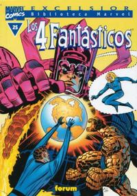 Cover Thumbnail for Biblioteca Marvel: Los 4 Fantásticos (Planeta DeAgostini, 1999 series) #25