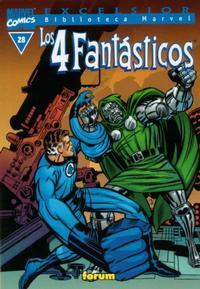 Cover Thumbnail for Biblioteca Marvel: Los 4 Fantásticos (Planeta DeAgostini, 1999 series) #28