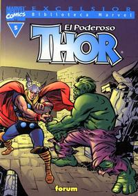 Cover Thumbnail for Biblioteca Marvel: Thor (Planeta DeAgostini, 2001 series) #5