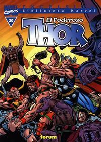 Cover Thumbnail for Biblioteca Marvel: Thor (Planeta DeAgostini, 2001 series) #20
