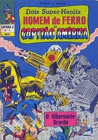 Cover Thumbnail for Capitão Z (3ª Série) (Editora Brasil-América [EBAL], 1967 series) #4