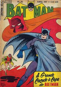 Cover Thumbnail for Batman (1ª Série) (Editora Brasil-América [EBAL], 1953 series) #50