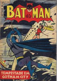Cover Thumbnail for Batman (1ª Série) (Editora Brasil-América [EBAL], 1953 series) #64