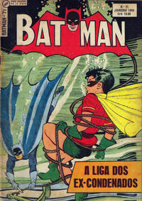 Cover Thumbnail for Batman (1ª Série) (Editora Brasil-América [EBAL], 1953 series) #71