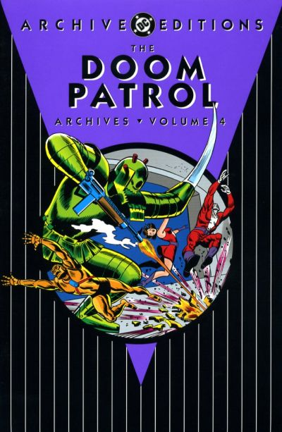 Cover for The Doom Patrol Archives (DC, 2002 series) #4