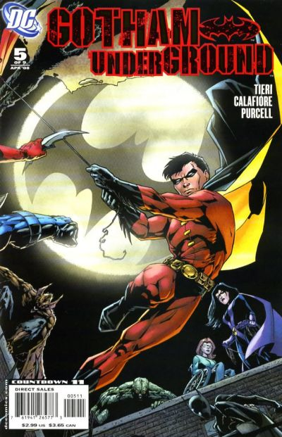 Cover for Gotham Underground (DC, 2007 series) #5