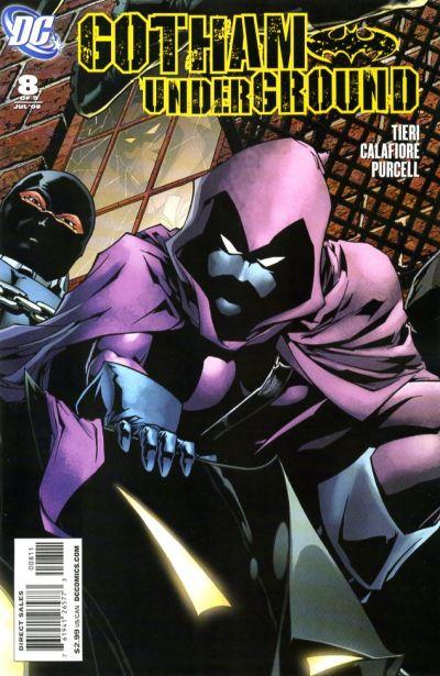 Cover for Gotham Underground (DC, 2007 series) #8