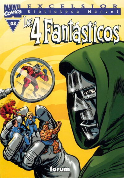 Cover for Biblioteca Marvel: Los 4 Fantásticos (Planeta DeAgostini, 1999 series) #3