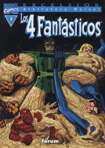 Cover for Biblioteca Marvel: Los 4 Fantásticos (Planeta DeAgostini, 1999 series) #7