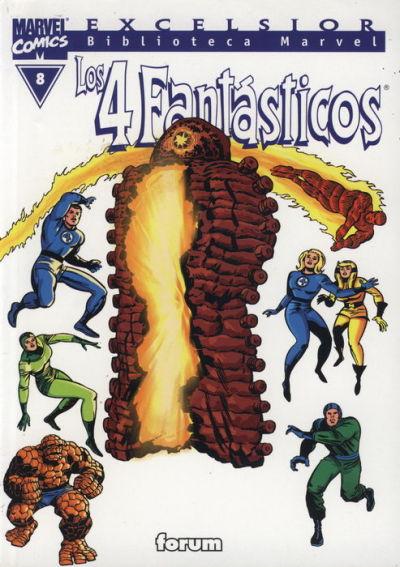 Cover for Biblioteca Marvel: Los 4 Fantásticos (Planeta DeAgostini, 1999 series) #8