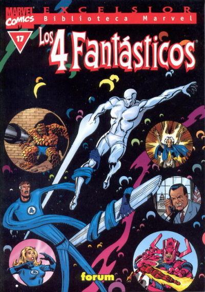 Cover for Biblioteca Marvel: Los 4 Fantásticos (Planeta DeAgostini, 1999 series) #17