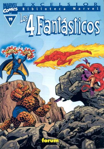 Cover for Biblioteca Marvel: Los 4 Fantásticos (Planeta DeAgostini, 1999 series) #19