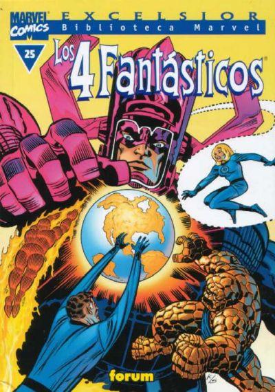 Cover for Biblioteca Marvel: Los 4 Fantásticos (Planeta DeAgostini, 1999 series) #25