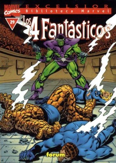 Cover for Biblioteca Marvel: Los 4 Fantásticos (Planeta DeAgostini, 1999 series) #29