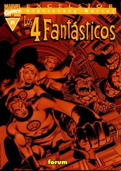 Cover for Biblioteca Marvel: Los 4 Fantásticos (Planeta DeAgostini, 1999 series) #31