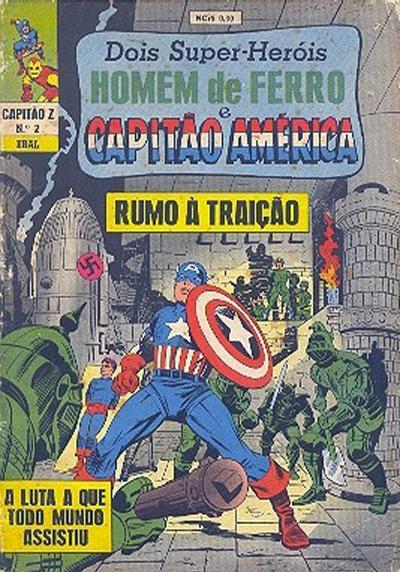 Cover for Capitão Z (3ª Série) (Editora Brasil-América [EBAL], 1967 series) #2