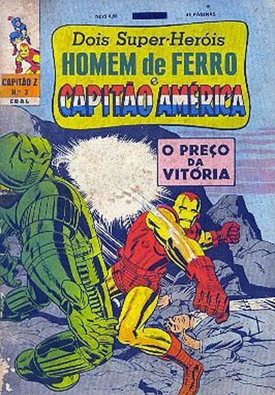Cover for Capitão Z (3ª Série) (Editora Brasil-América [EBAL], 1967 series) #3