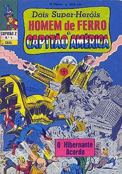 Cover for Capitão Z (3ª Série) (Editora Brasil-América [EBAL], 1967 series) #4