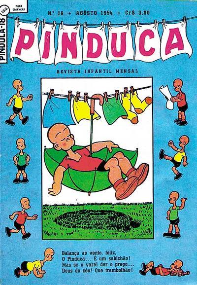 Cover for Pinduca [Henry] (Editora Brasil-América [EBAL], 1953 series) #18