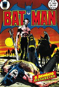 Cover Thumbnail for Batman (3ª Série) (Editora Brasil-América [EBAL], 1969 series) #42