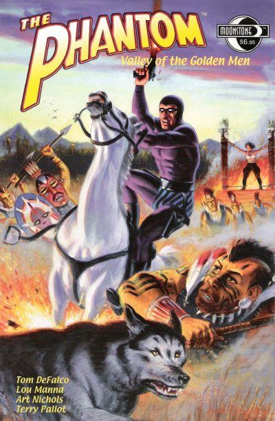 Cover for The Phantom: Valley of the Golden Men (Moonstone, 2004 series)