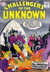 Cover for Challengers of the Unknown (DC, 1958 series) #3
