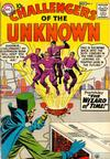 Cover for Challengers of the Unknown (DC, 1958 series) #4