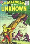 Cover for Challengers of the Unknown (DC, 1958 series) #5