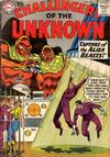 Cover for Challengers of the Unknown (DC, 1958 series) #14