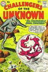 Cover for Challengers of the Unknown (DC, 1958 series) #16