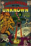 Cover for Challengers of the Unknown (DC, 1958 series) #19