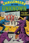 Cover for Challengers of the Unknown (DC, 1958 series) #37