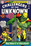Cover for Challengers of the Unknown (DC, 1958 series) #50