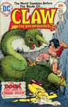 Cover for Claw the Unconquered (DC, 1975 series) #2