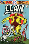 Cover for Claw the Unconquered (DC, 1975 series) #4
