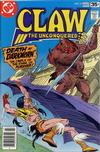 Cover for Claw the Unconquered (DC, 1975 series) #11