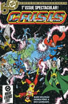 Cover for Crisis on Infinite Earths (DC, 1985 series) #1 [Direct]